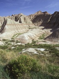 USA, South Dakota, Badlands National Monument Lmina fotogrfica por Chris Cheadle