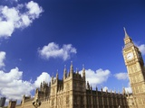 Houses of Parliament and Big Ben, London, UK Photographic Print