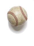 One Baseball Photographic Print by Robert Benson