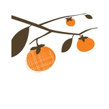 Orange tree Giclee Print by Anne Bryant