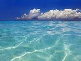 Tropical lagoon, Kunfunadhoo, Baa Atoll, Maldives Photographic Print by Frank Krahmer