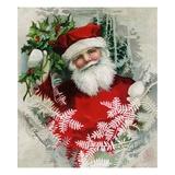 Santa Claus Giclee Print