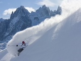 Backcountry skier Photographie par John Norris