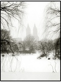 Central Park Snow Photographic Print by John Kuss
