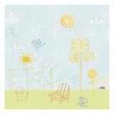 Jour de soleil Reproduction procédé giclée par Jon Cannell