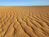 Dune landscape in Tassili du Hoggar, Algeria Photographic Print by Frank Krahmer