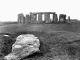Slaughter Stone at Stonehenge Photographic Print by Francis Frith