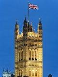 Victoria Tower and Houses of Parliament Photographic Print by Rudy Sulgan