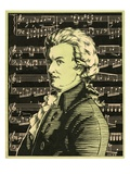 Wolfgang Amadeus Mozart Giclee Print