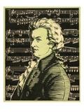 Wolfgang Amadeus Mozart Giclee Print