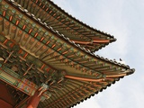 Eaves on the Changdeokgung Palace Photographic Print by Lo Mak