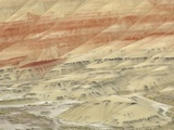The Painted Hills at the John Day Fossil Beds National Monument, Oregon, USA Photographic Print by Peter Carroll