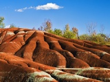 Cheltenham Badlands near Inglewood, Ontario Photographic Print by Andrew McLachlan