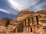 Nabatean tombs of Petra in Jordan Photographic Print by Jeremy Horner