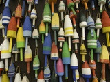 Fishing Buoys Fotografie-Druck von Kerrick James