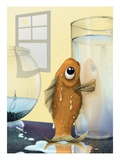 Fish Out of Water Giclee Print