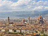 Florence Italy, skyline Photographic Print by David Sailors
