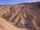 USA, California, Death Valley National Monument, Zabriske Point, Erosion Patterns in Sandstone Photographic Print by Chris Cheadle