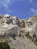USA, South Dakota , Mount Rushmore Stone Carvings of US Presidents, George Washington, Thomas Jeffe Photographie par Chris Cheadle