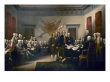 Declaration of Independence Giclee Print by John Trumbull