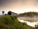 Covered Bridge on Kingston Penninsula, New Brunswick, Canada. Photographic Print by Henry Georgi