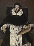 Fray Hortensio Felix Paravicino Lámina fotográfica por  El Greco