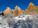 Cliffs in Zion National Park Photographic Print by Mark A. Johnson