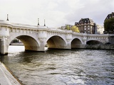 Pont Neuf, Paris, France Lmina fotogrfica