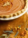 Pumpkin Pie Photographic Print by William Brady