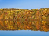 Bear Mountain State Park in autumn Photographic Print by Rudy Sulgan