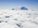 Mount Rainier above the Clouds Photographic Print by Jeremy Woodhouse