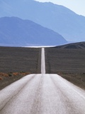 USA, California, Death Valley Roadway Photographic Print by Chris Cheadle
