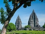 Prambanan Temple on Java Photographic Print by Bob Krist