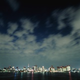 Tokyo Skyline at Night Photographic Print by Micha Pawlitzki