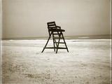 Lifeguard Chair Reproduction photographique par John Kuss