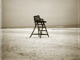 Lifeguard Chair Photographic Print by John Kuss