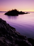 East Quoddy Lighthouse at Sunrise, Campobello Island, New Brunswick, Canada Photographic Print by Garry Black