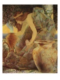 Gulnare of the Sea Impression giclée par Maxfield Parrish