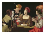 The Cheat with the Ace of Diamonds Giclee Print by Georges de La Tour