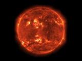 Die Sonne Fotodruck