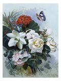 A Romantic Bouquet Giclee Print by Horace Van Ruith