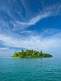St. Joseph Atoll in the Seychelles Photographic Print by Bob Krist