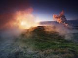 Hot springs near Hafnir Photographic Print by Frank Krahmer