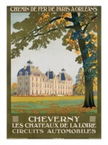 Cheverny les Chateaux de la Loire Giclee Print by Constant Duval