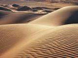 Dune landscape in Erg Admer Fotografisk tryk af Frank Krahmer