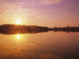 Sunrise Over Saint Peters, Cape Breton, Nova Scotia, Canada Photographic Print by Mike Grandmaison