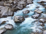 Verzasca River rushing over boulders Photographic Print by Frank Krahmer