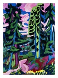 Wildboden Giclee Print by Ernst Ludwig Kirchner