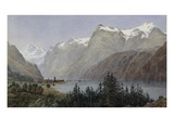 Lake Lucerne Giclee Print by Herbert Moxon Cook