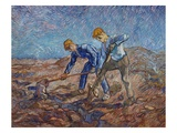 The Diggers Giclee Print by Vincent van Gogh